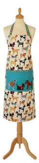 Hound Dog Cotton Apron by Ulster Weavers