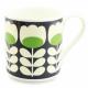 Orla Kiely Green Tulip Stem Stem Large Big Mug 350ml