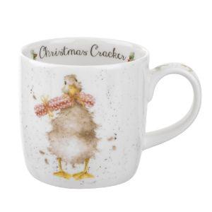 Wrendale Duck Christmas Cracker Mug