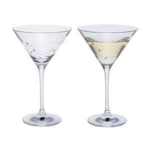 Dartington Glitz Martini Pair