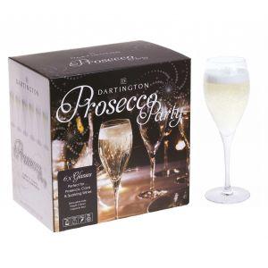Dartington Party Time Six Prosecco Glasses