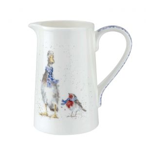 Wrendale by Royal Worcester Jug / Duck and Robin - 1 Pint