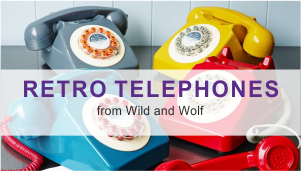 Retro Phones from Wild and Wolf